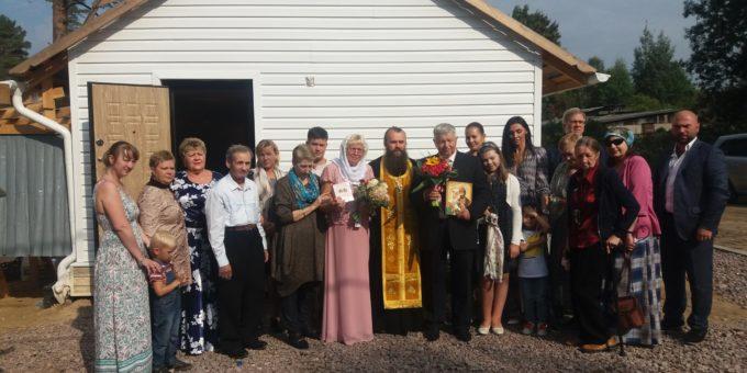 Первое венчание в храме
