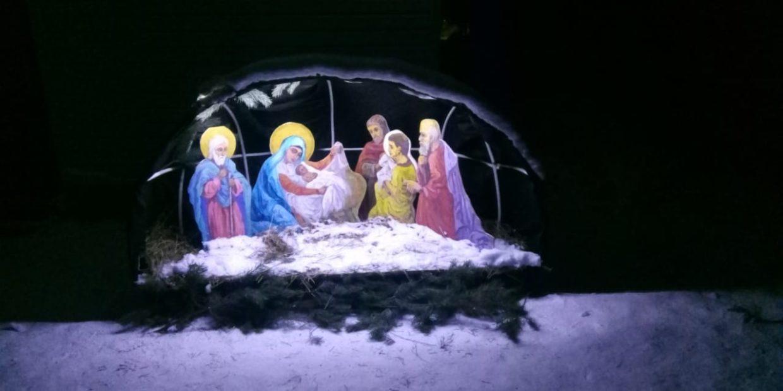 Фото рождественксого вертепа