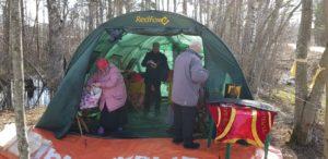 Храм в палатке