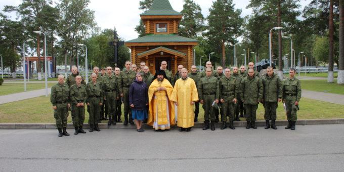 Первая литургия в войсковой части