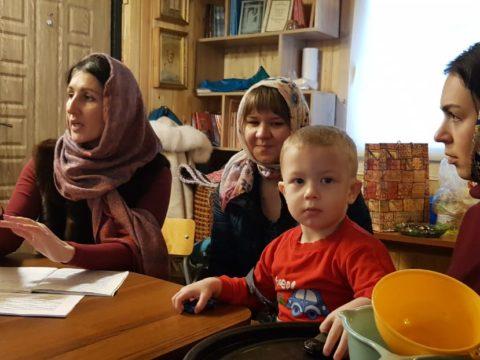 Семья и род. Занятие в воскресной школе д. Васкелово